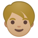 Android Pie; U+1F9D1 U+1F3FC; Adulto : Colore Pelle 3 Emoji
