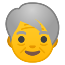 Android Pie; U+1F9D3; Adulto Mayor Emoji
