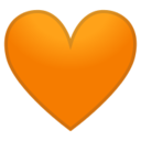 Android Pie; U+1F9E1; Emoji