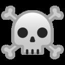 Android Pie; U+2620 U+FE0F; Emoji
