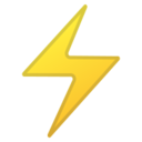 Android Pie; U+26A1; Emoji