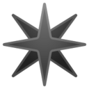 Android Pie; U+2734 U+FE0F; Emoji
