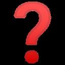 Android Pie; U+2753; Emoji