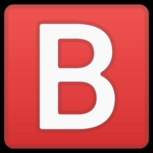 Groupe Sanguin B Emoji