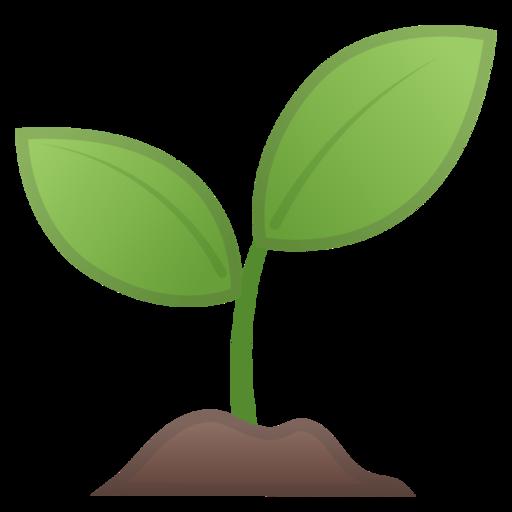 planta joven emoji