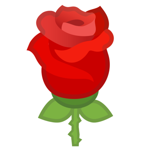 Rosa Emoji