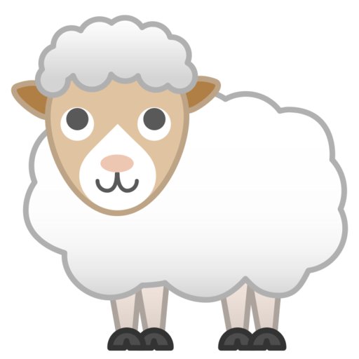 Schaf-Emoji