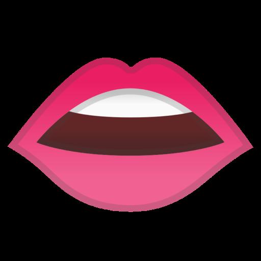 emoji hand lips. Black Bedroom Furniture Sets. Home Design Ideas