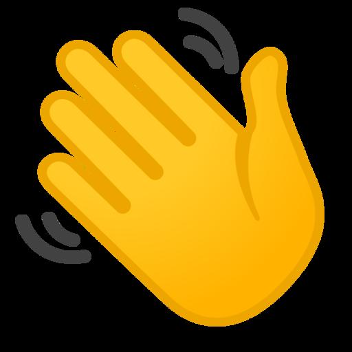Bildergebnis für hand icon winken