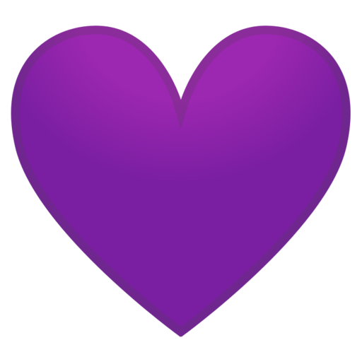 Meaning of purple heart emoticon