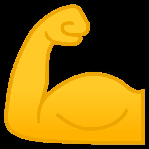 💪 Biceps Contracté Emoji