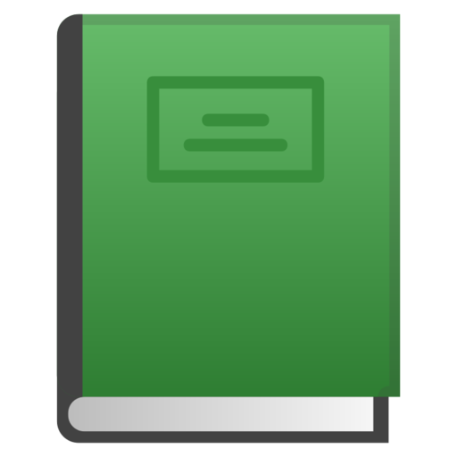 Green Book Emoji