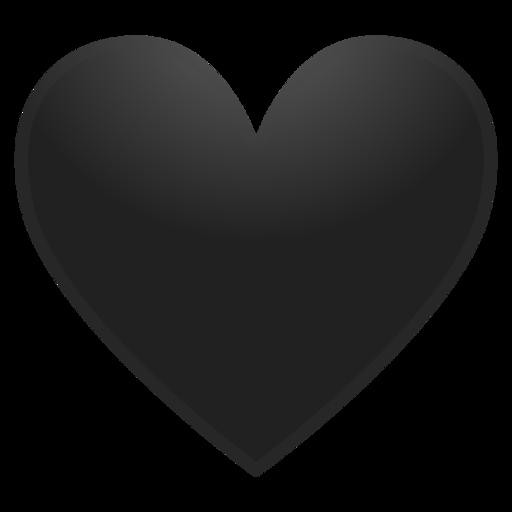 Corazón Negro Emoji