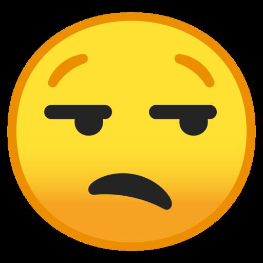 visage blas u00e9 emoji