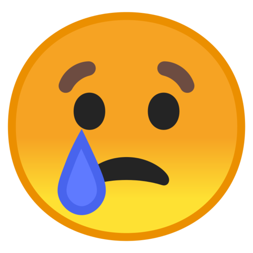 Sad face emoji copy and paste