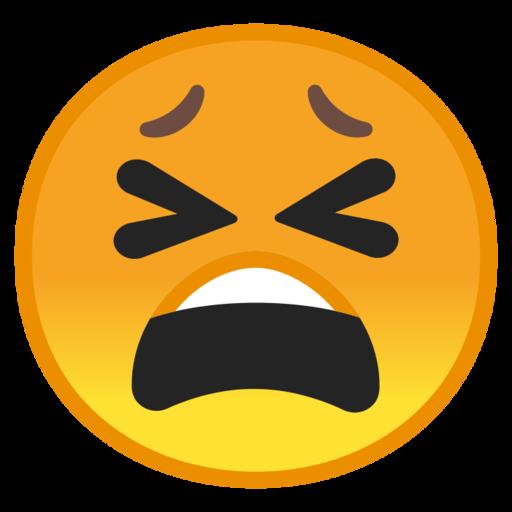😫 Tired Face Emoji