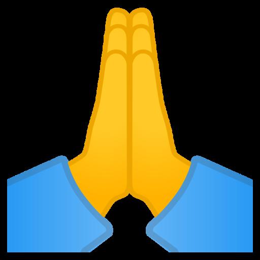 🙏 Mãos Juntas Emoji