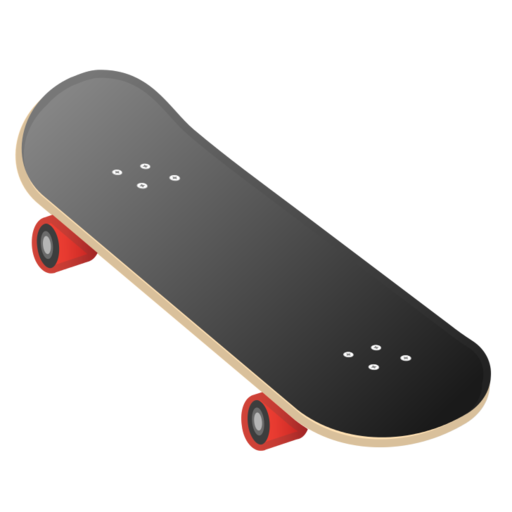 Image result for skateboard emoji