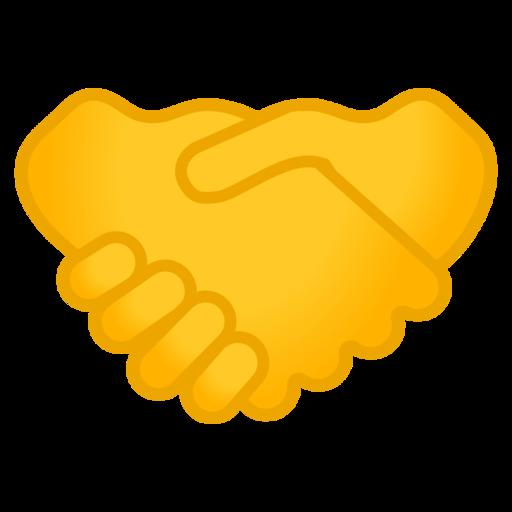 Handschlag-Emoji