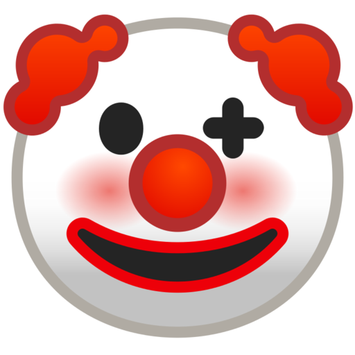 🤡 Clown Face Emoji