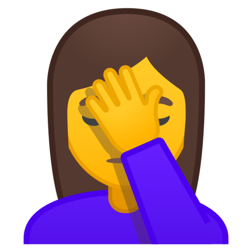 🤦 Persona Esasperata Emoji
