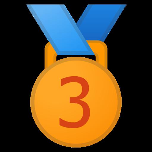 Risultato immagini per medaglia di bronzo png