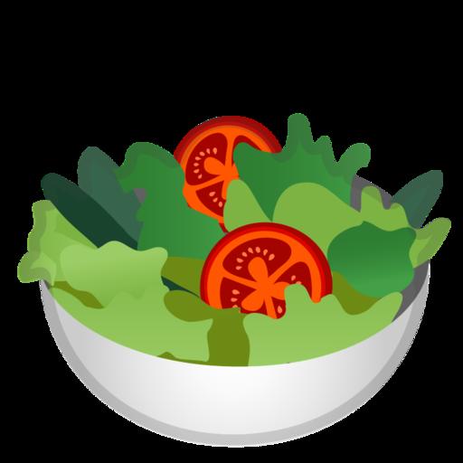 green salad emoji