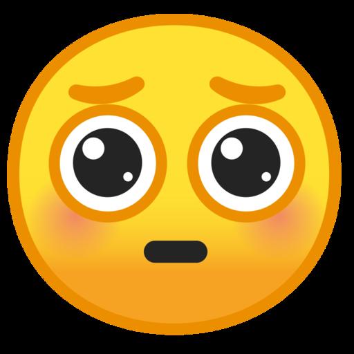 """Pleading Emoji"""