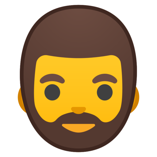🧔 Man: Beard Emoji