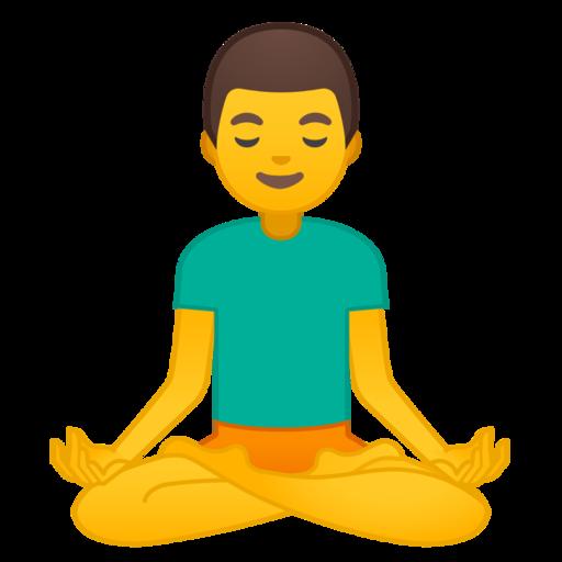 🧘♂️ Man In Lotus Position Emoji