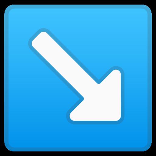 Down Arrow Symbol Emoji The Emoji