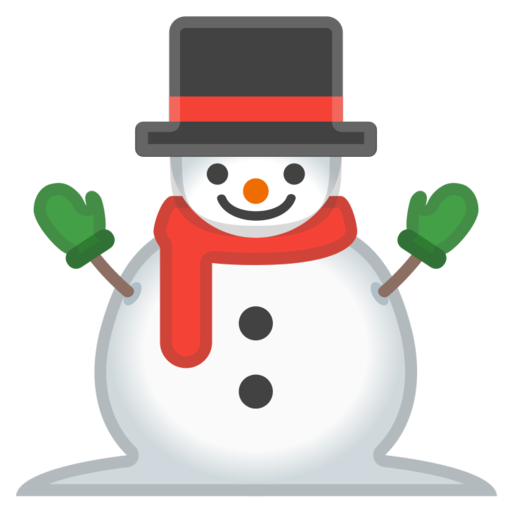 ⛄ Muñeco De Nieve Emoji