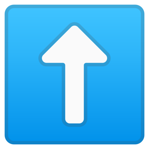 ⬆️ Freccia Rivolta Verso L'alto Emoji