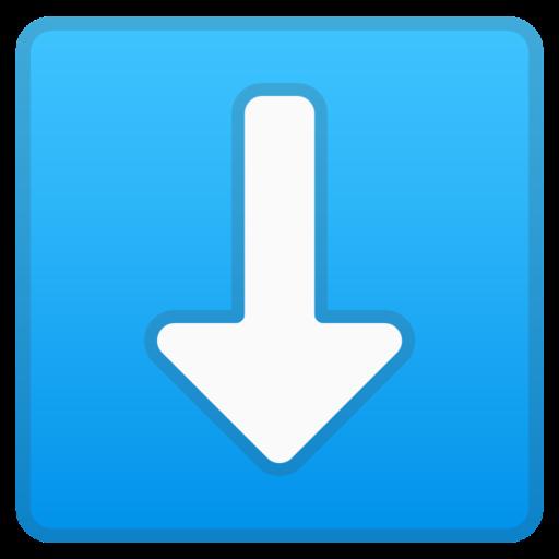 ⬇️ Pfeil nach unten-Emoji