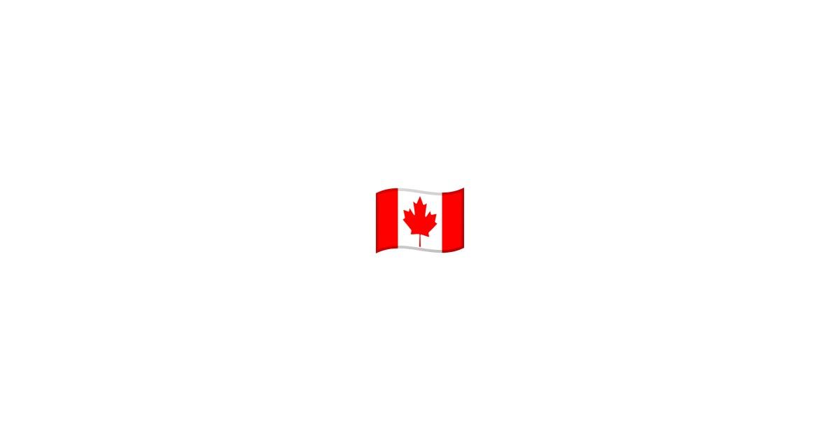 canadian flag emoji android