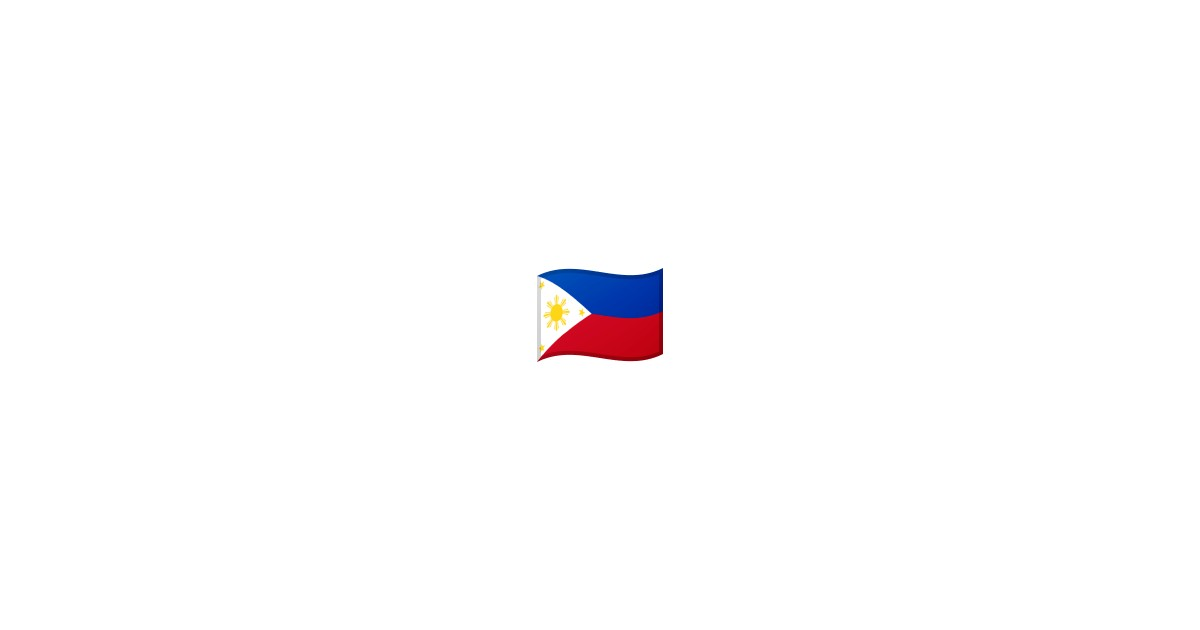 flag philippines emoji. Black Bedroom Furniture Sets. Home Design Ideas