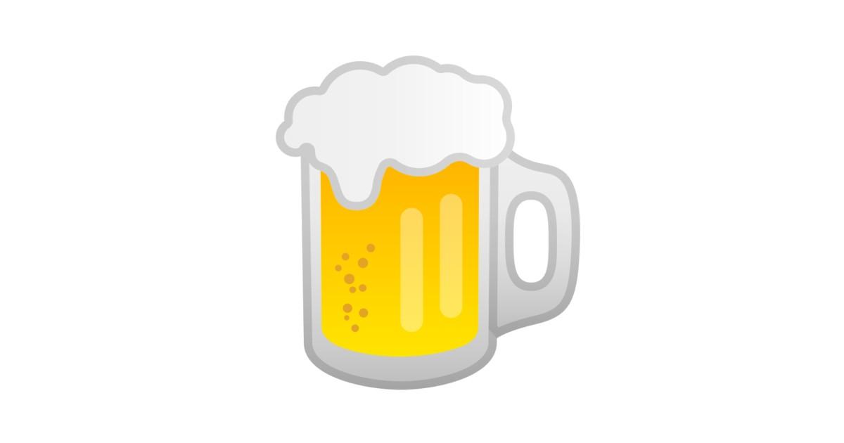 Jarra De Cerveza Emoji