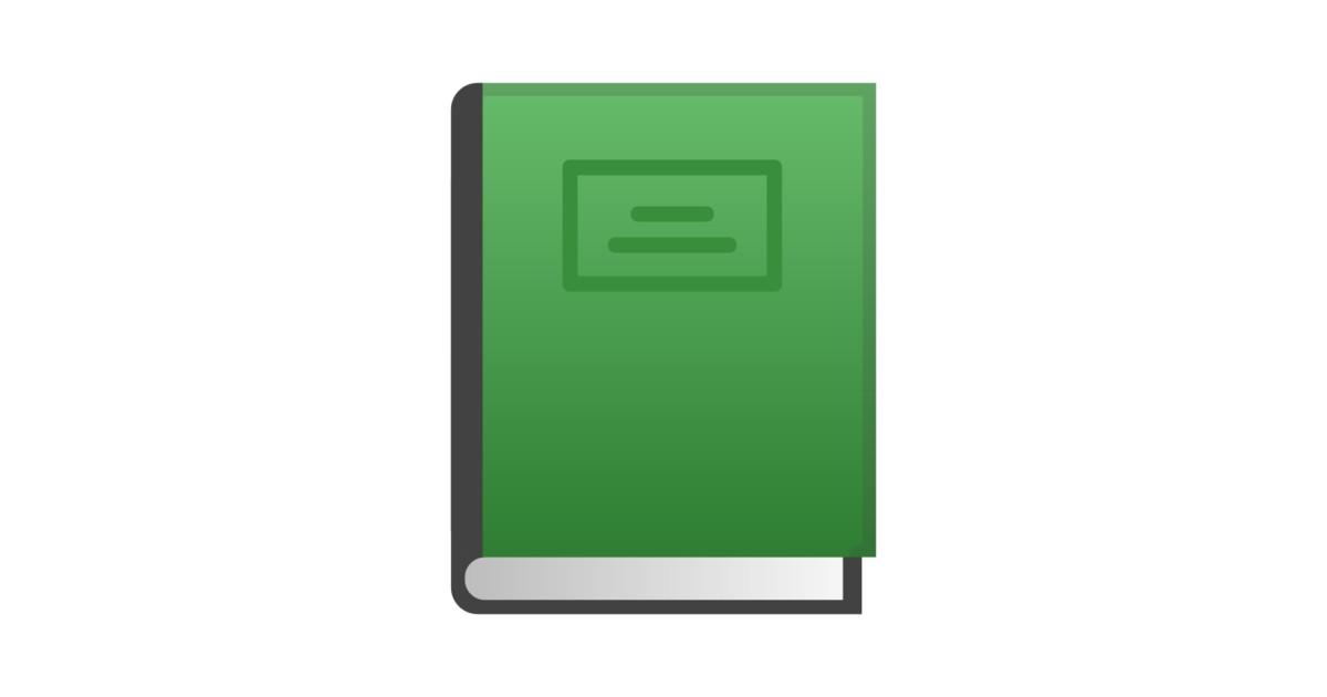 Livre Vert Emoji