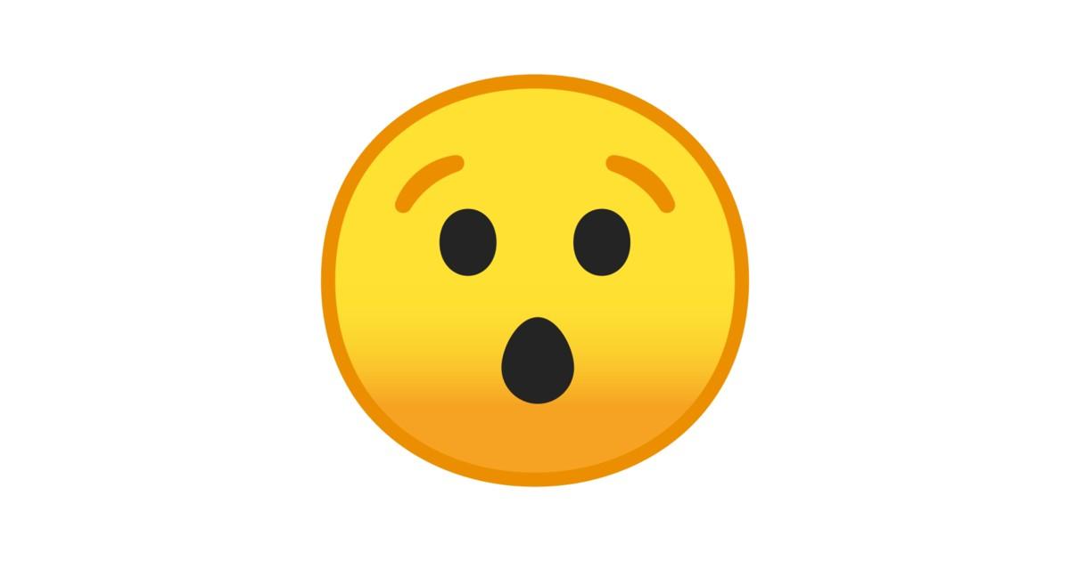 Rosto Surpreso Emoji