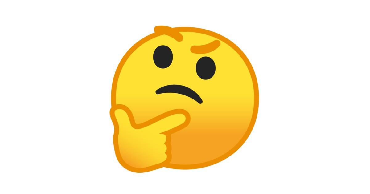 Resultat d'imatges de emoji pensar