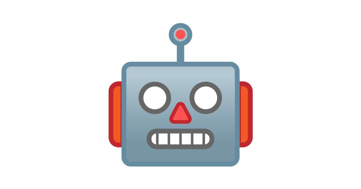 Image result for Robots emoji