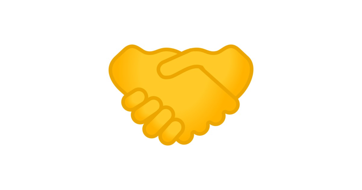 Imagens De Cumprimento: Aperto De Mãos Emoji