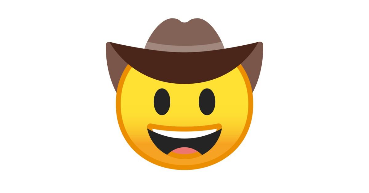 🤠 Cowboy Hat Face Emoji