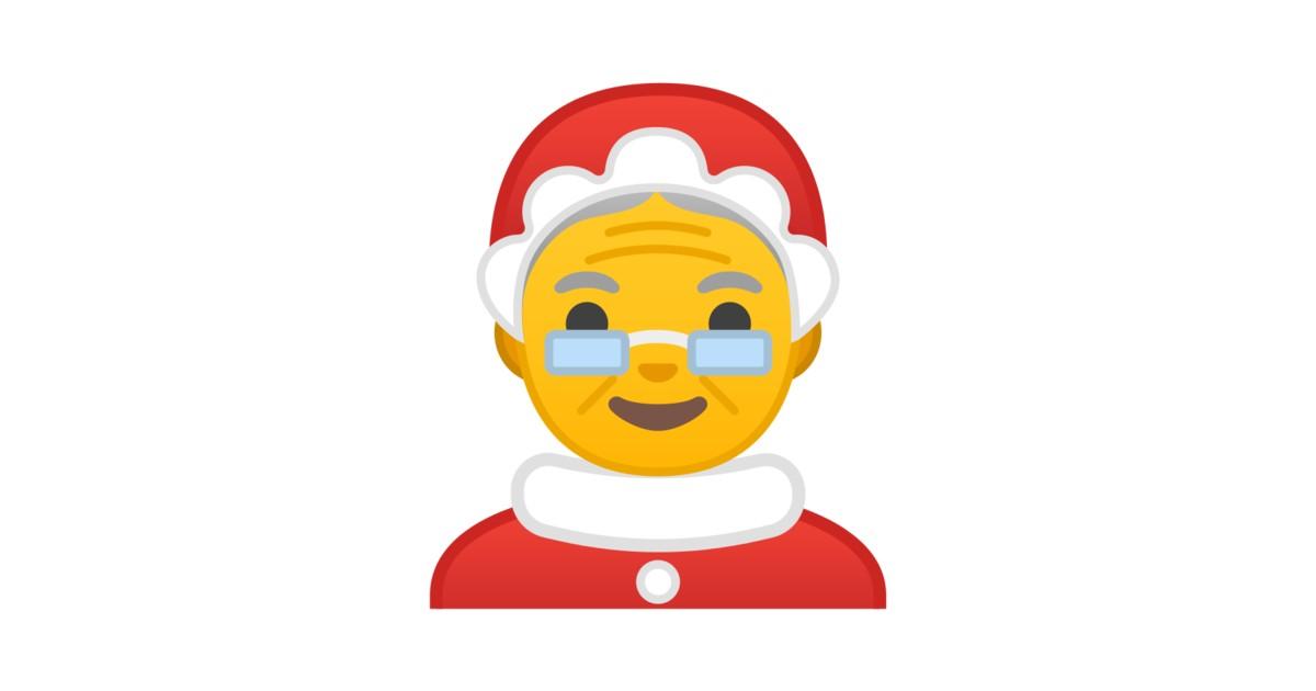 🤶 Weihnachtsfrau-Emoji