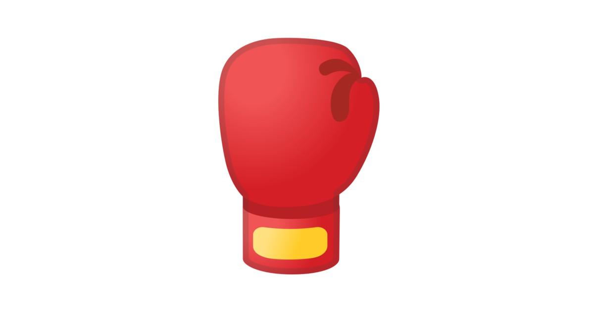 luva de boxe emoji
