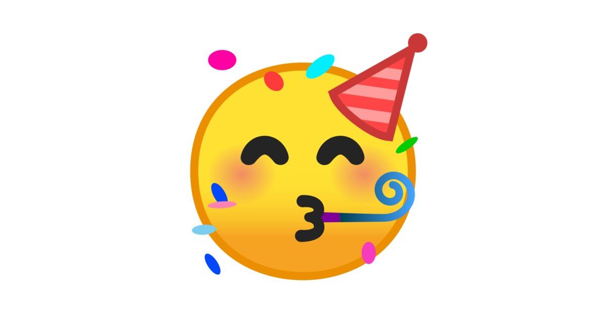 Partygesicht Emoji