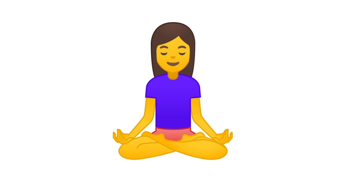 🧘 Person In Lotus Position Emoji