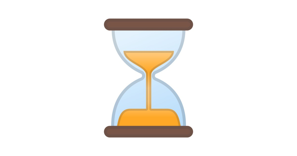 Hourglass Not Done Emoji