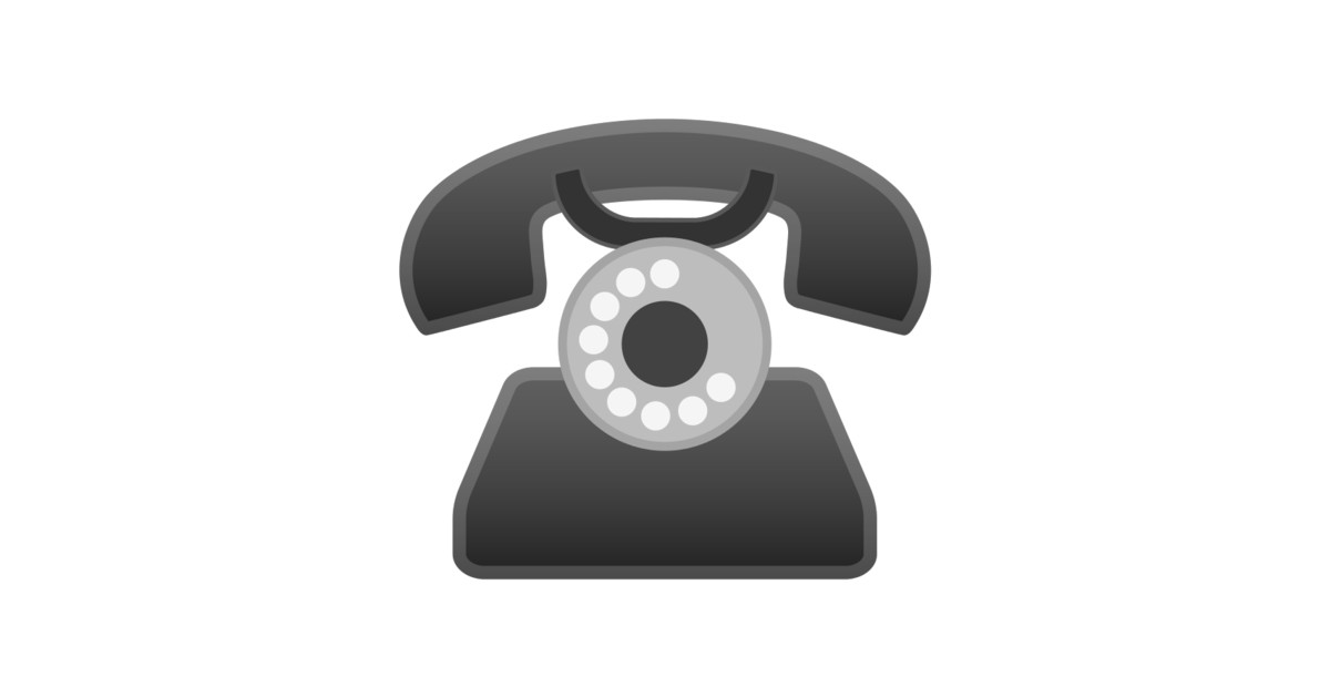 ☎️ Telephone Emoji