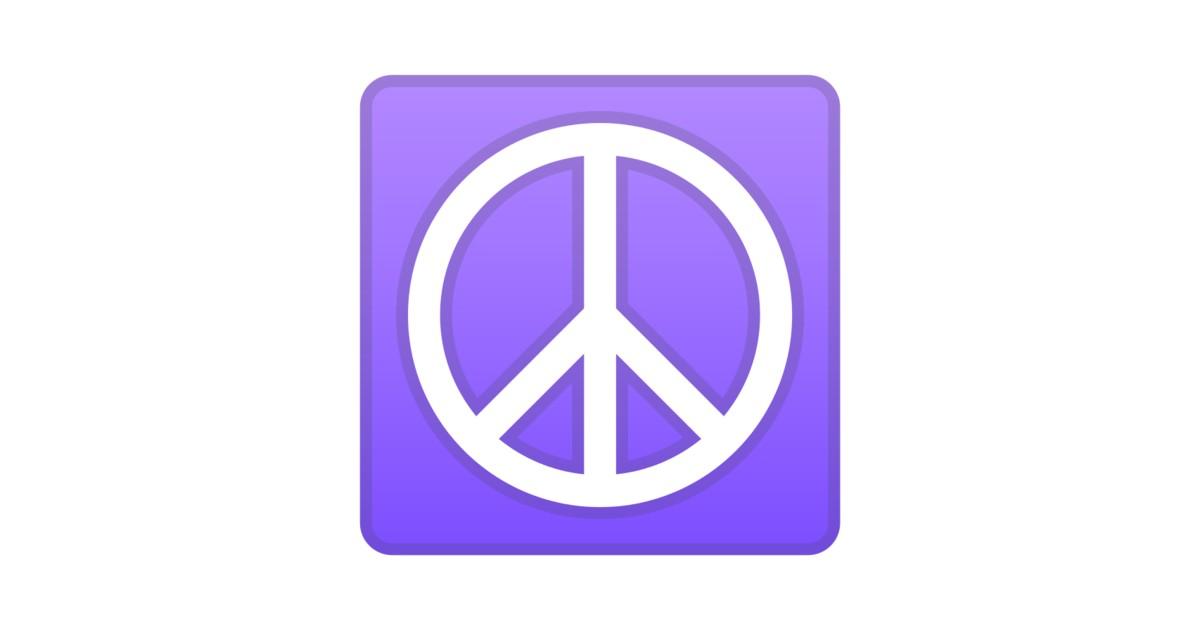☮️ Peace Symbol Emoji |
